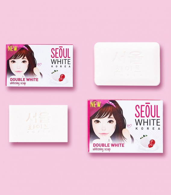 Double White Whitening Soap