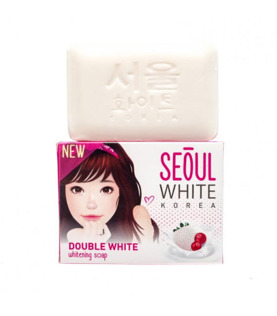 Double White Whitening Soap 90G