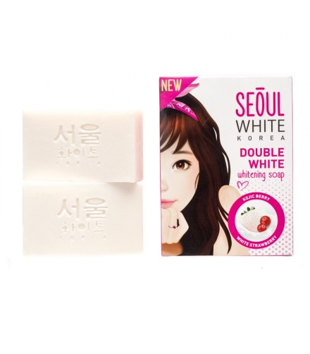 Double White Whitening Soap 2X60G