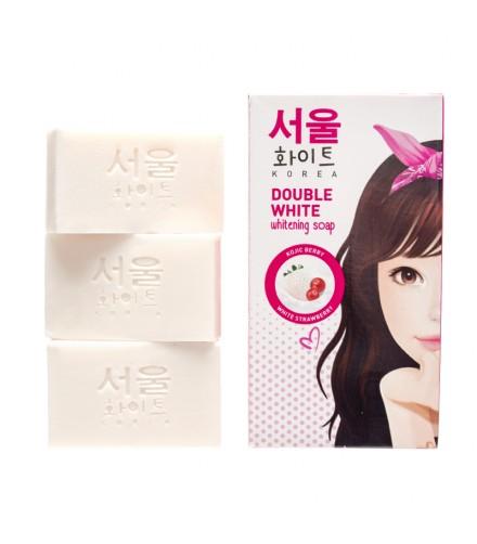 Double White Whitening Soap 3X60G
