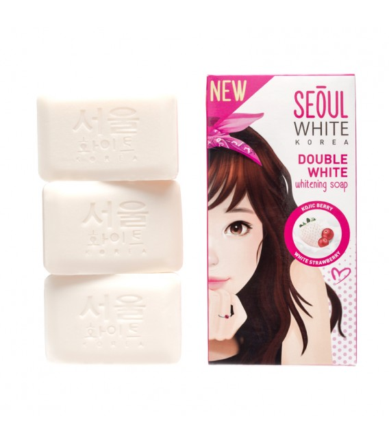 Double White Whitening Soap 3X90G